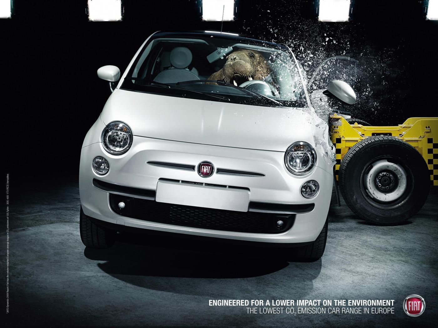 Fiat Outdoor Ad -  Walrus