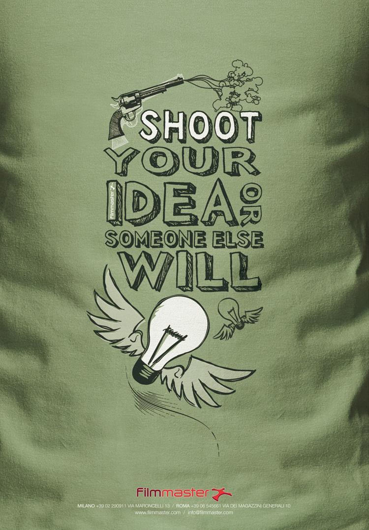 Filmmaster Productions Print Ad -  Shoot