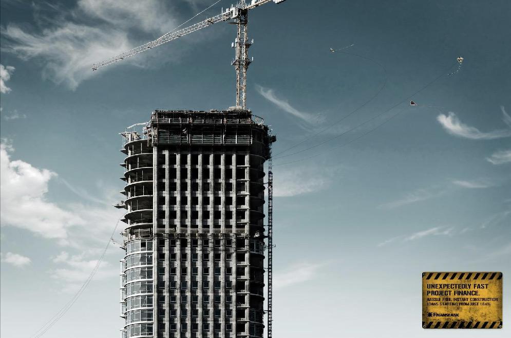 Finansbank Print Ad -  Kites