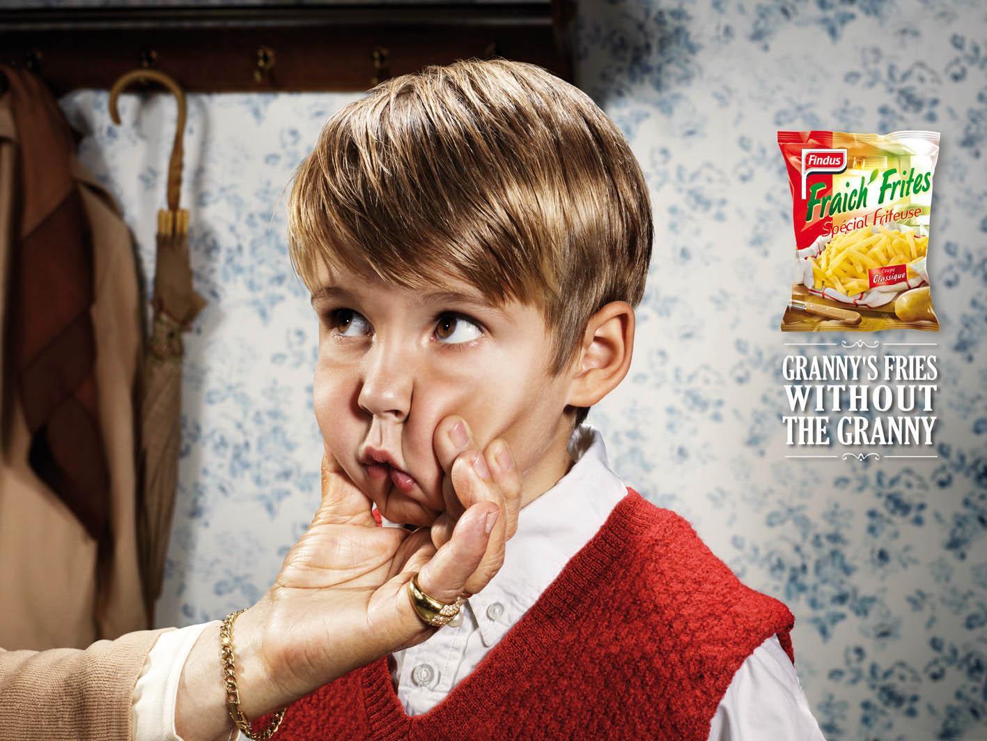 Fraich'Frites Print Ad -  Grandchildren, 1