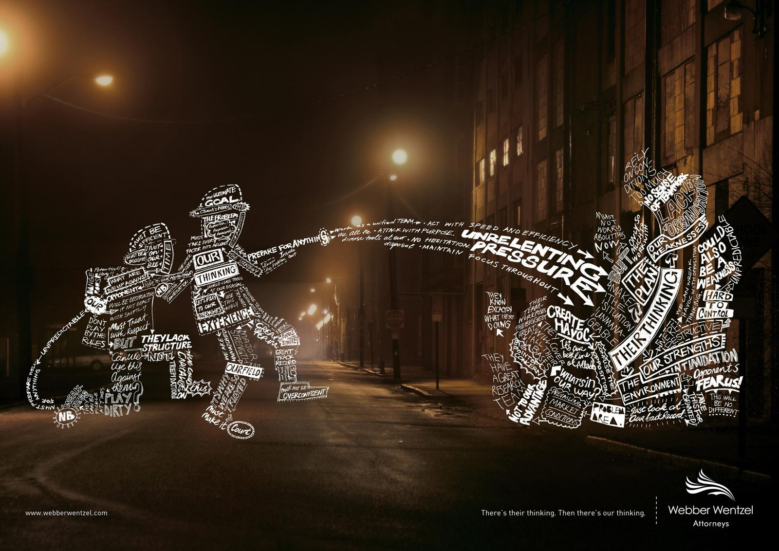Webber Wentzel Print Ad -  Firemen