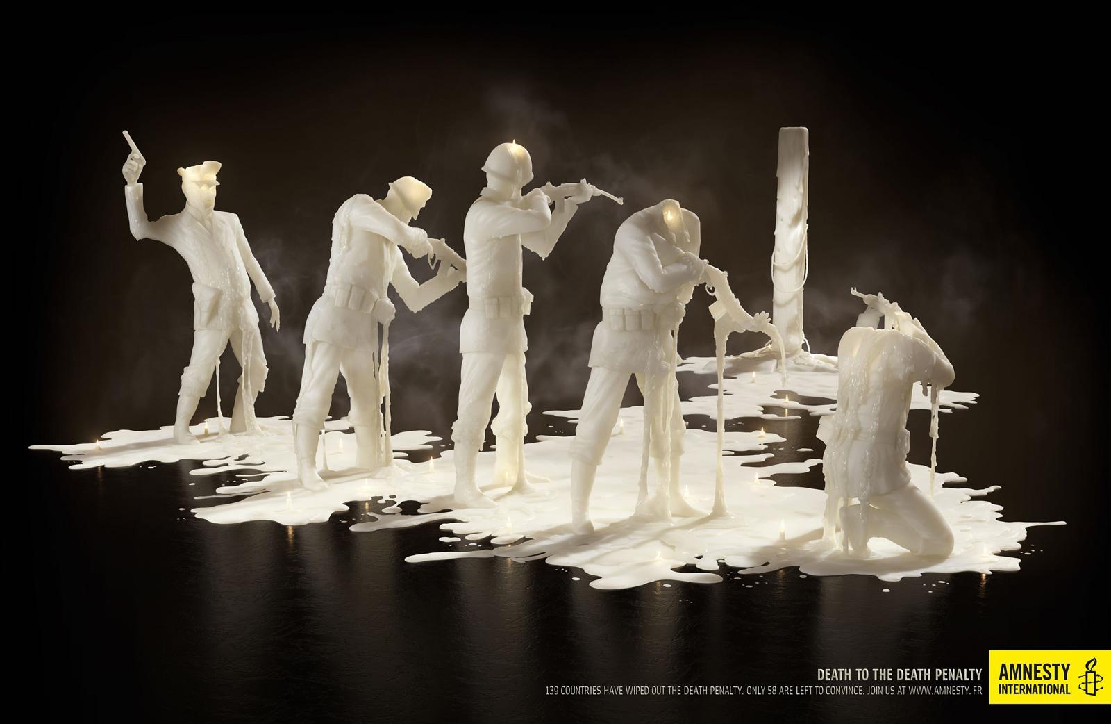 Amnesty International Print Ad -  Firing squad