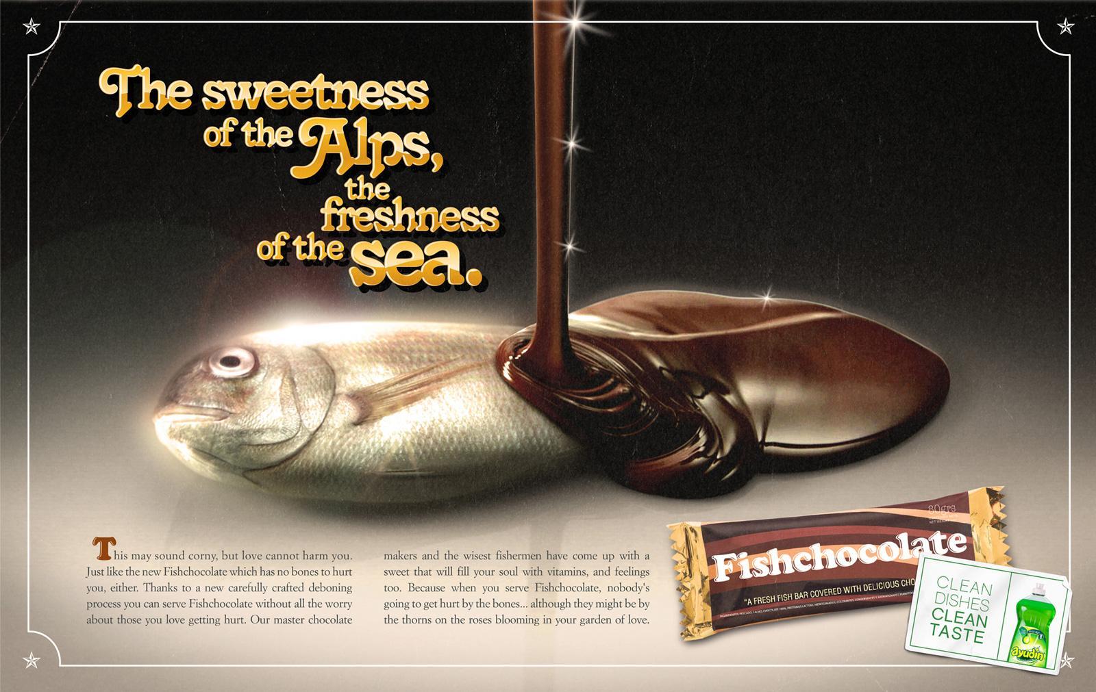 Ayudin Print Ad -  FishChocolate