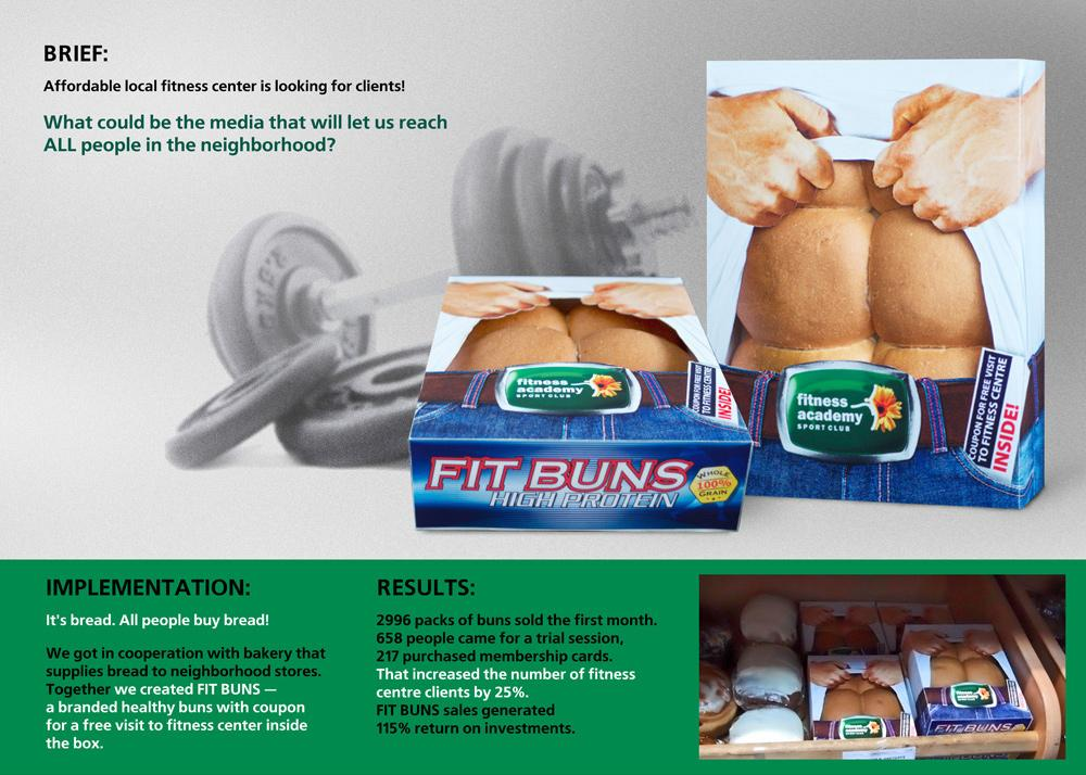 Fit Buns Direct Ad -  Bread