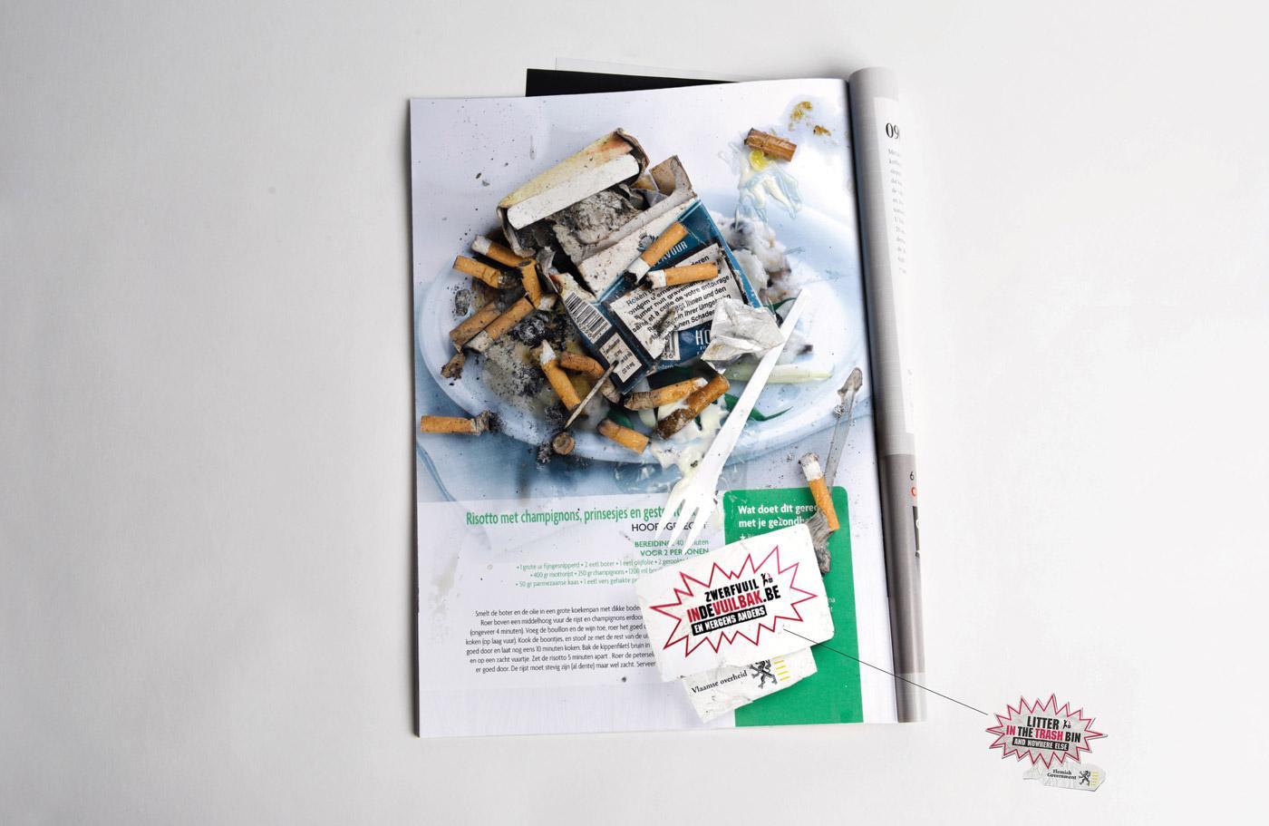 Fost Plus Print Ad -  Litter, 2