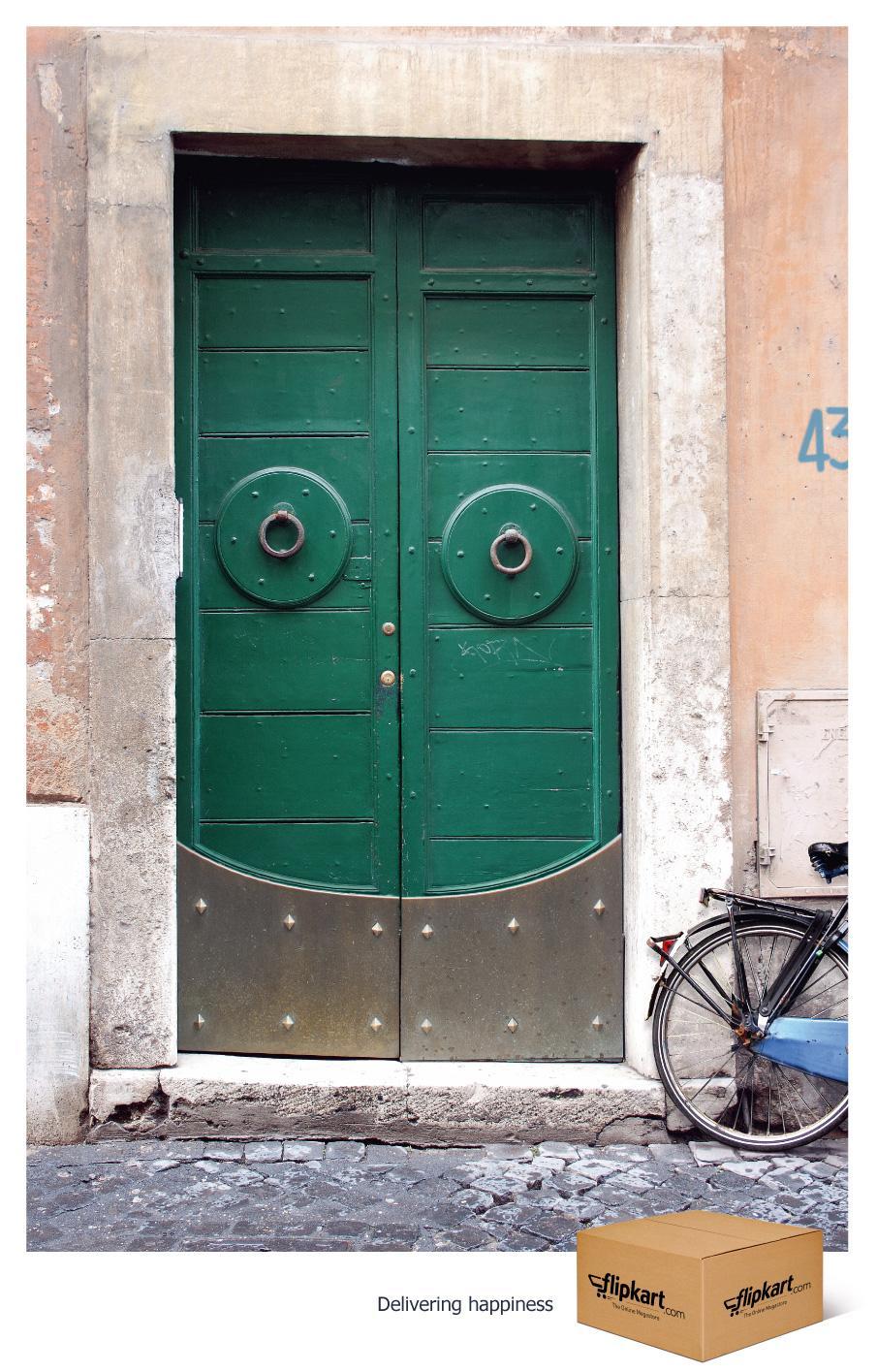 Flipkart Print Ad -  Happy Doors, 3