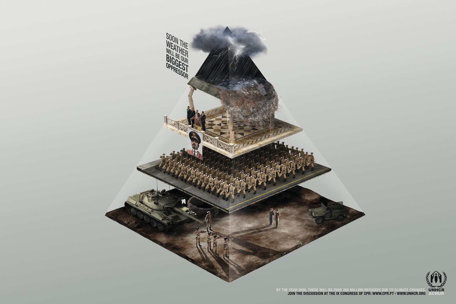 UNHCR Print Ad -  Flood