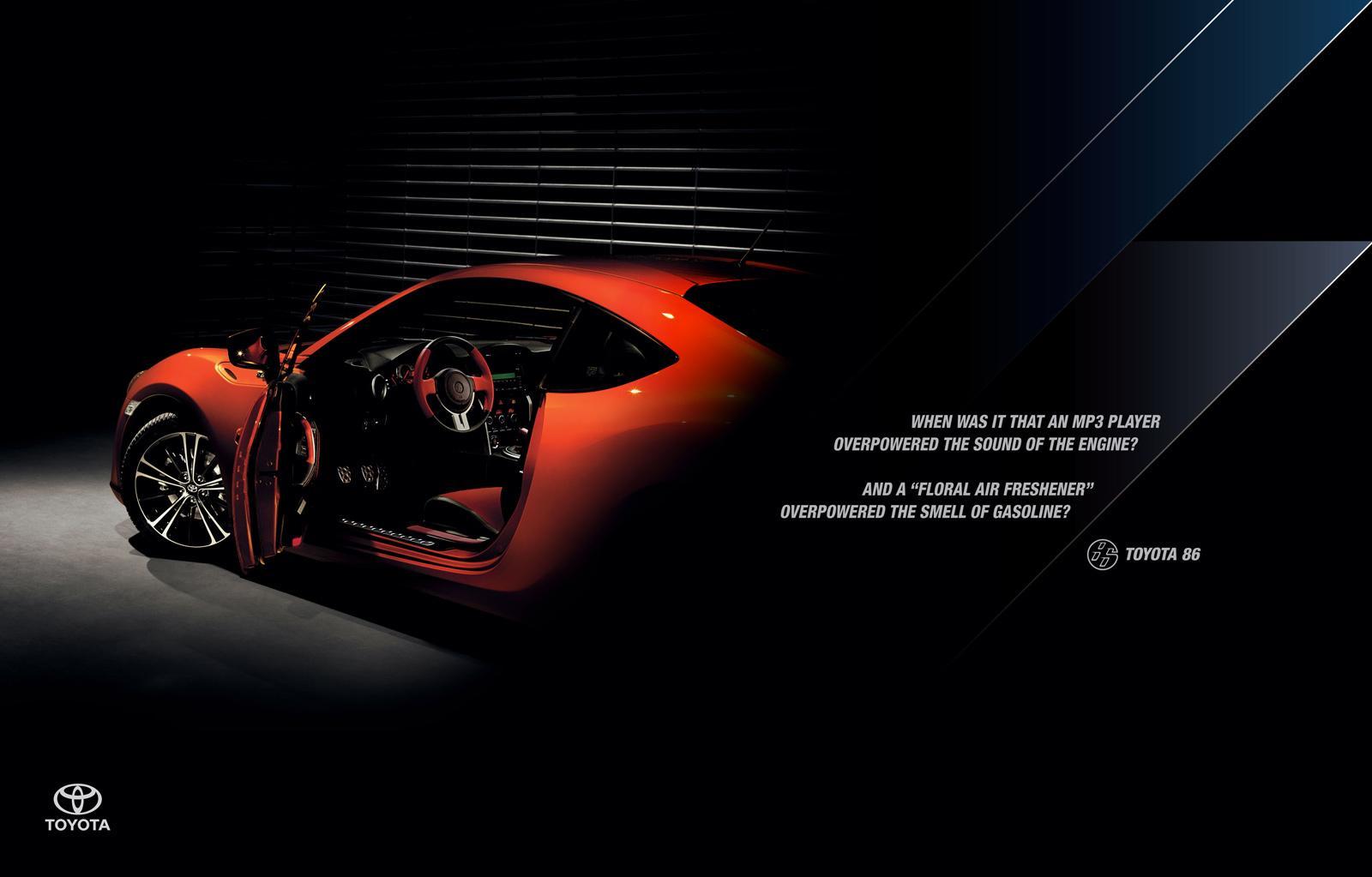 Toyota Print Ad -  Floral Air