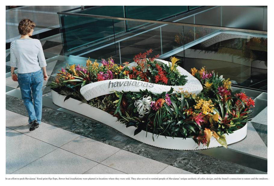 Havaianas Ambient Ad -  Flower Beds, 1