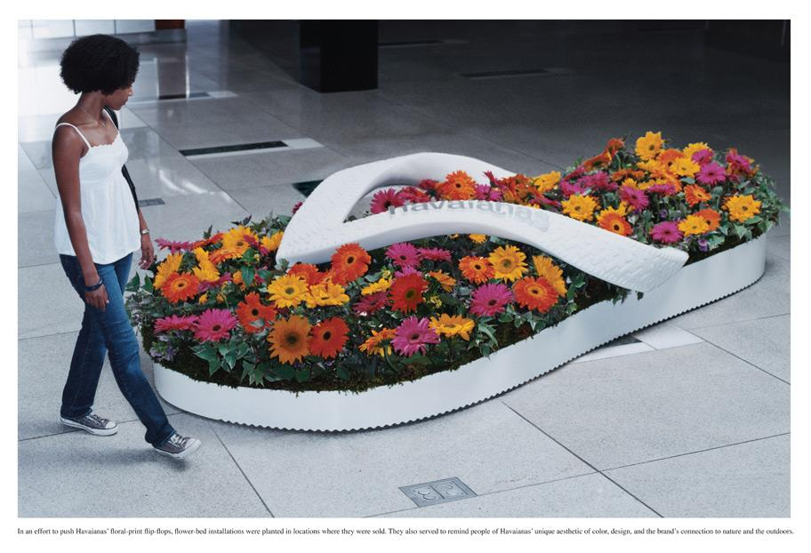 Havaianas Ambient Ad -  Flower Beds, 2
