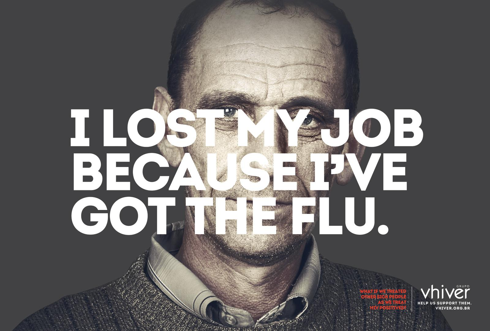 Grupo Vhiver Print Ad -  Flu