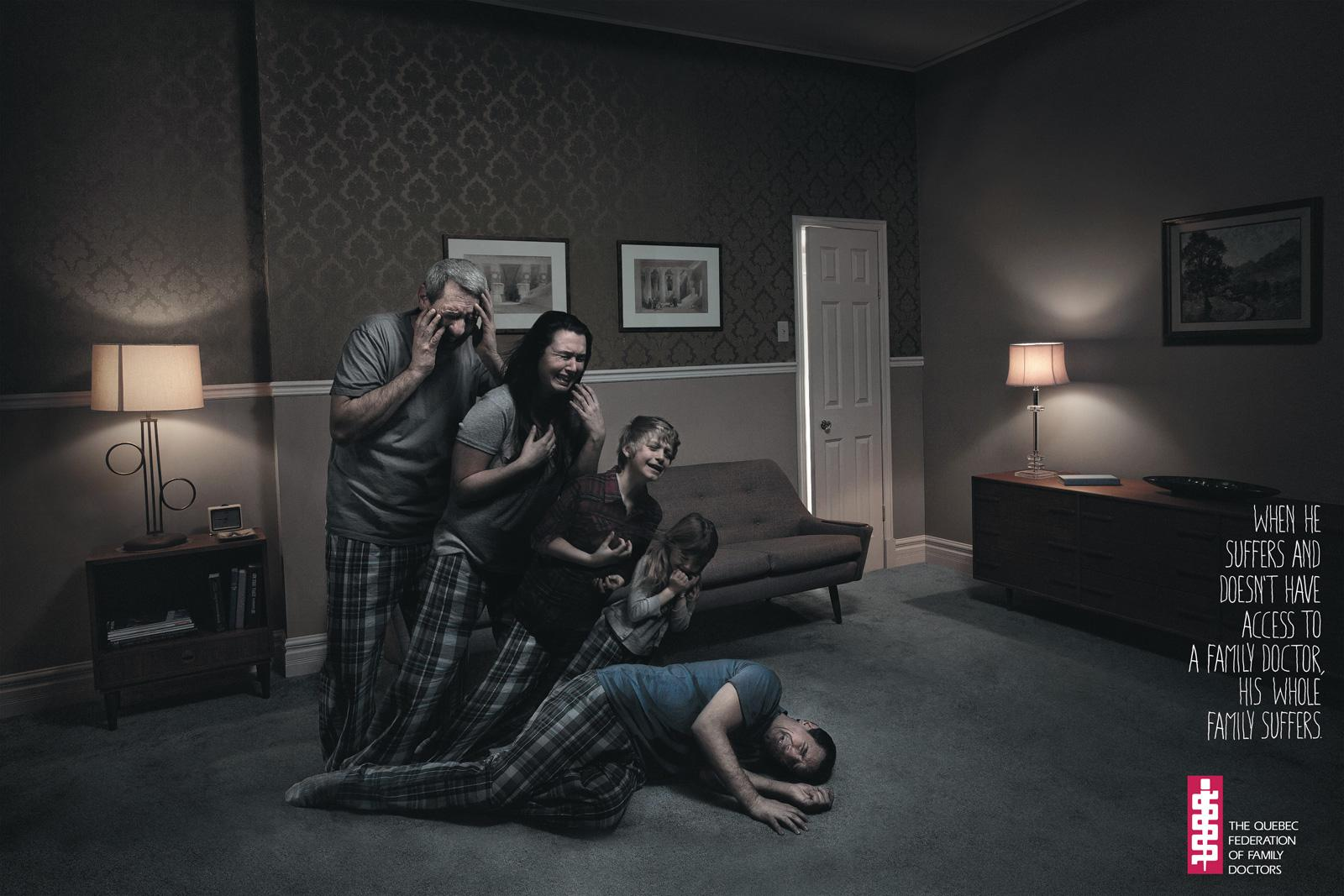The Quebec Federation of Family Doctors Print Ad -  Fall