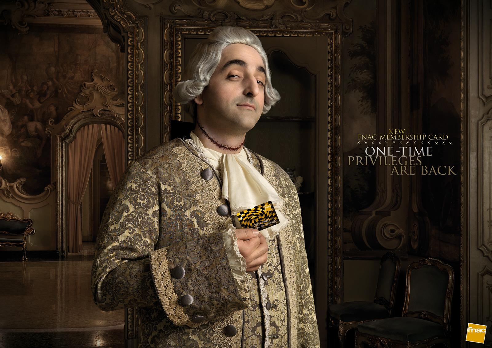 Fnac Print Ad -  Nobles, He