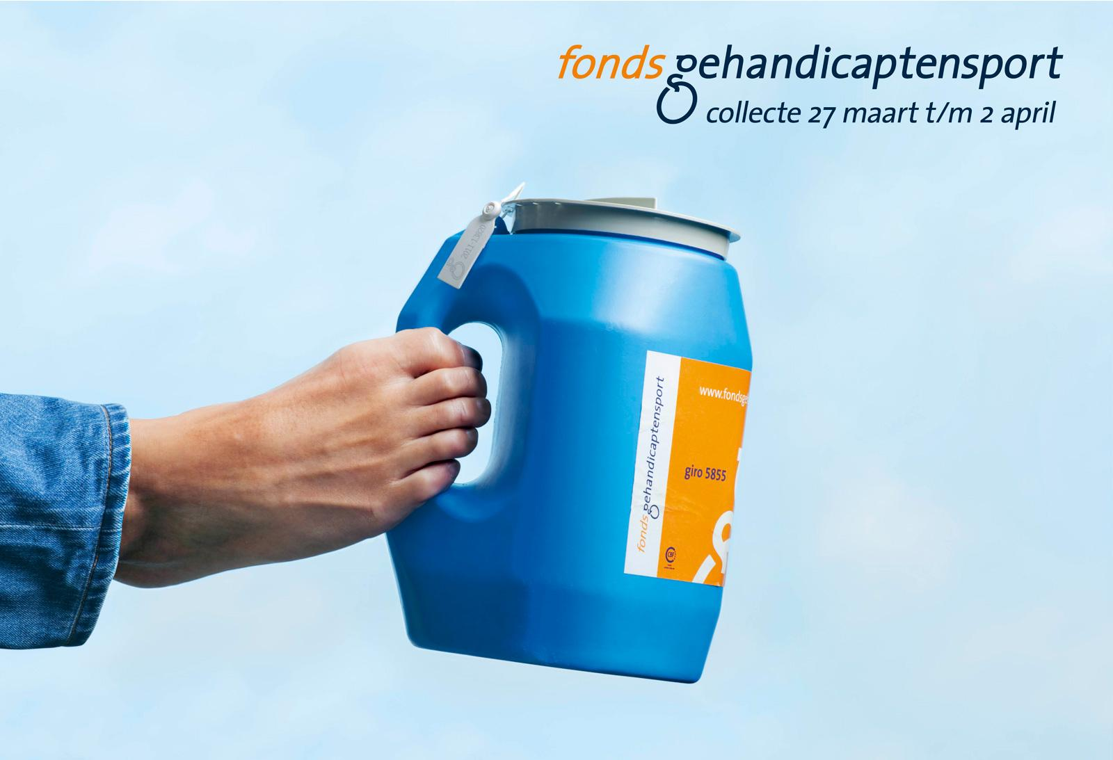 Fonds Gehandicaptensport Outdoor Ad -  Helping Foot