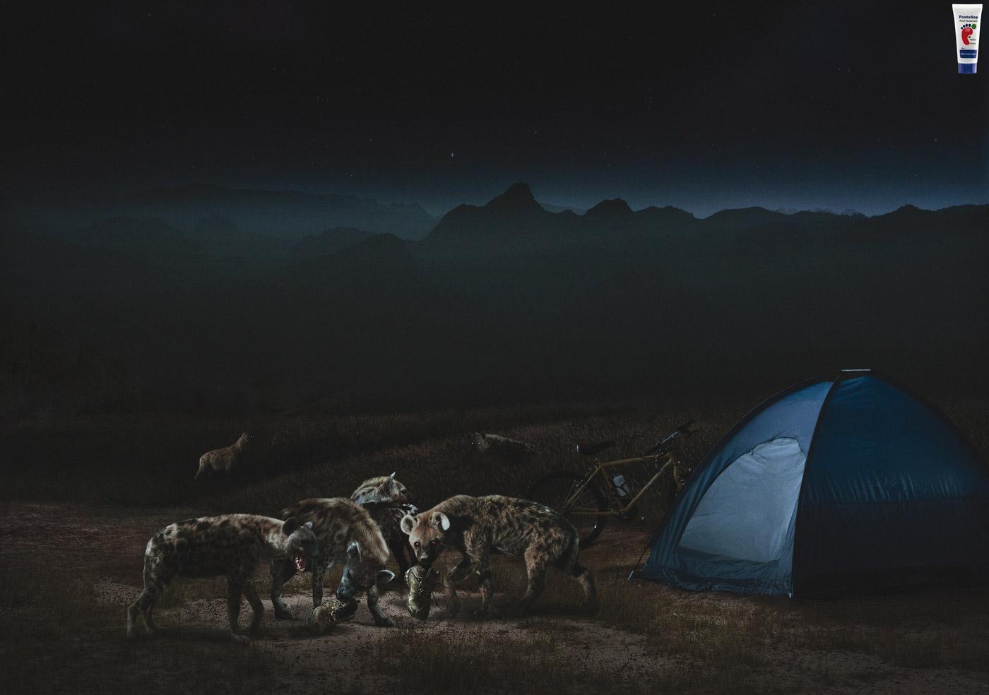 FootaSep Print Ad -  Hyenas