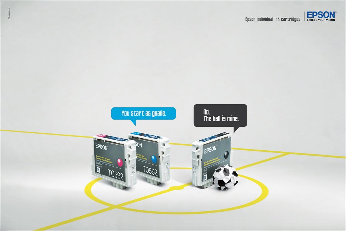 Epson Print Ad -  Football
