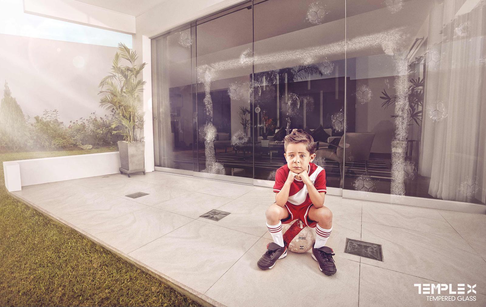 Templex Print Ad -  Football