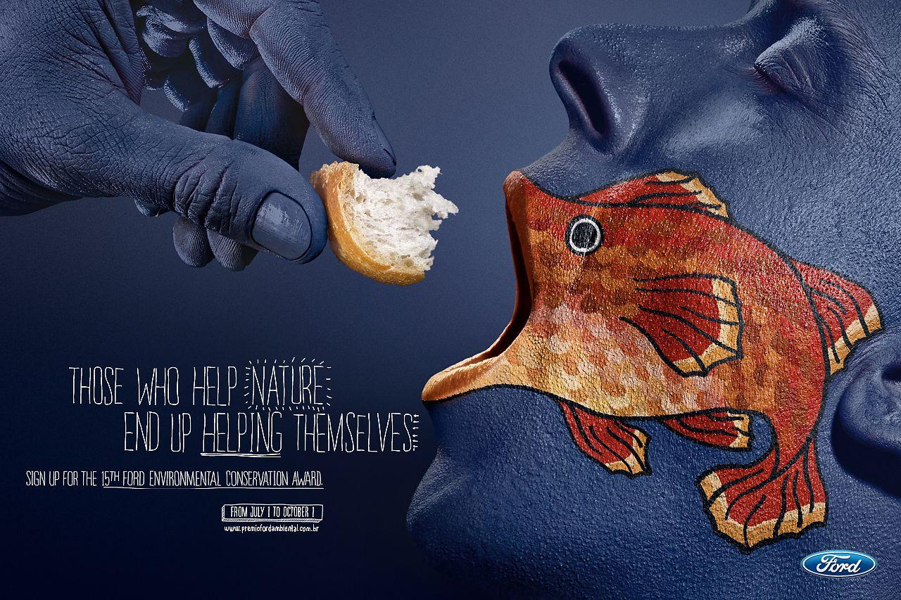 Ford Print Ad -  Fish