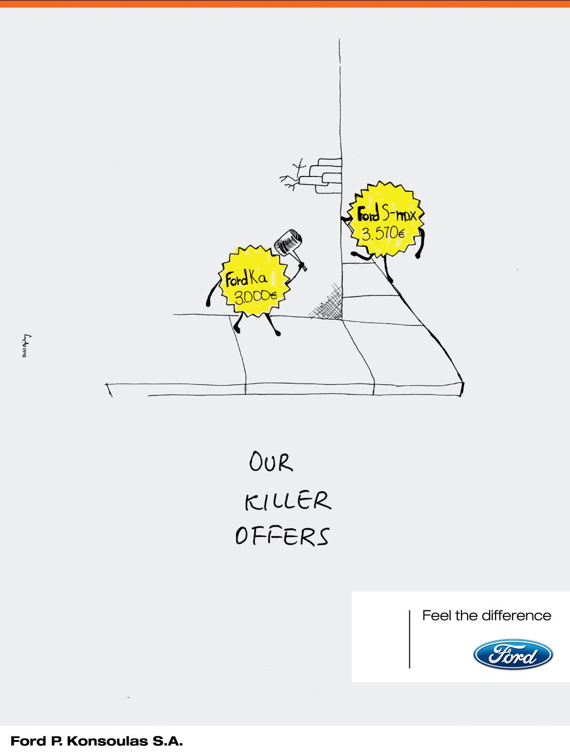 Ford Print Ad -  Fighting offers, 1