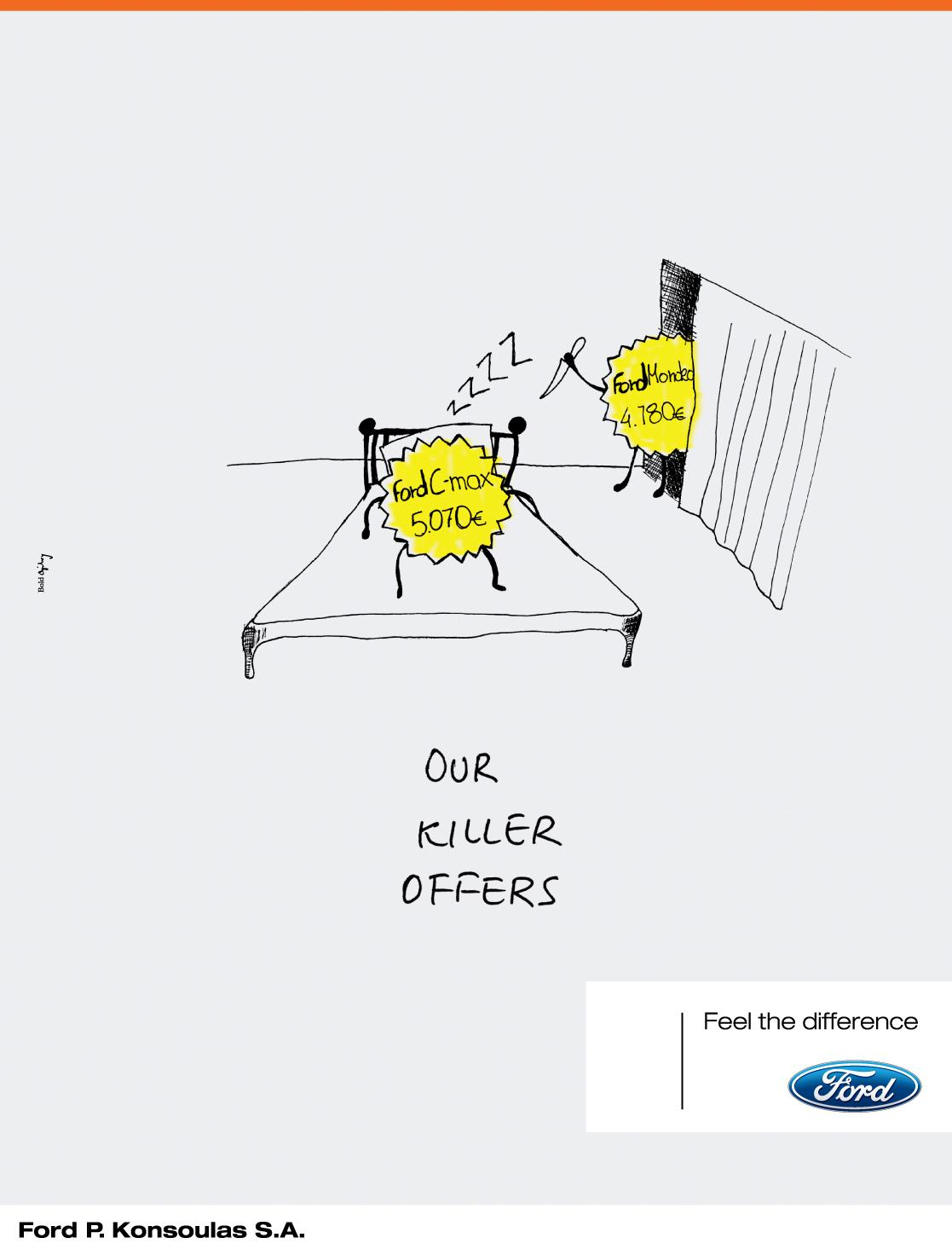 Ford Print Ad -  Fighting offers, 2