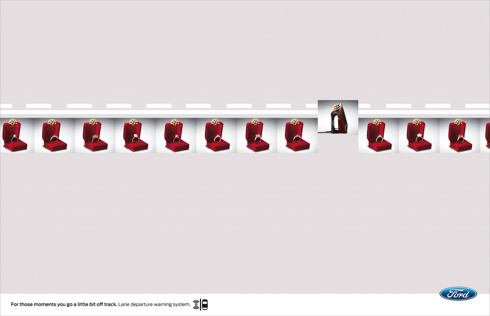 Ford Print Ad -  Gifts
