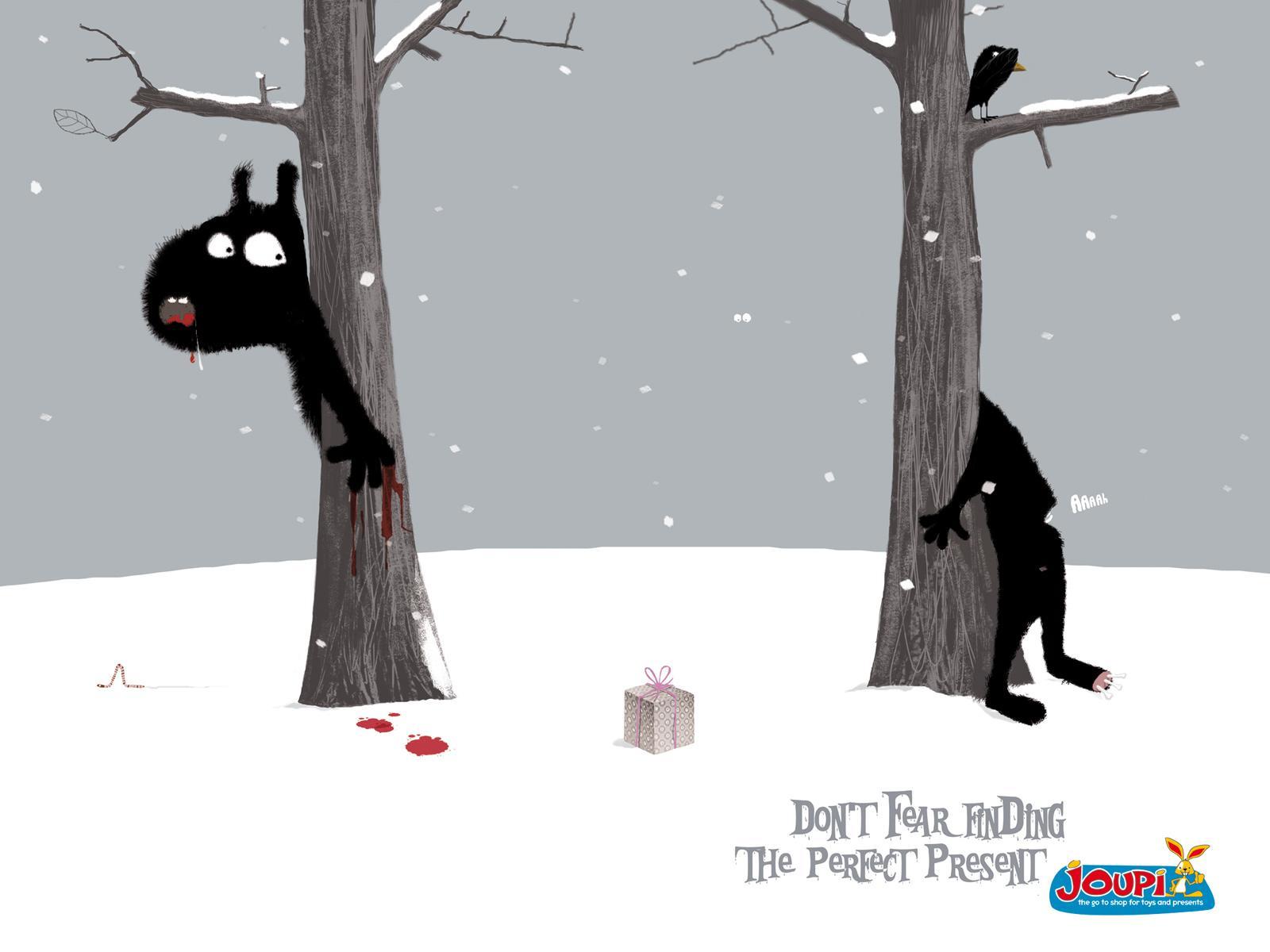 Joupi Print Ad -  Forest
