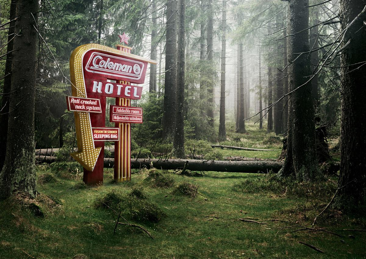 The Coleman Company Print Ad -  Forest
