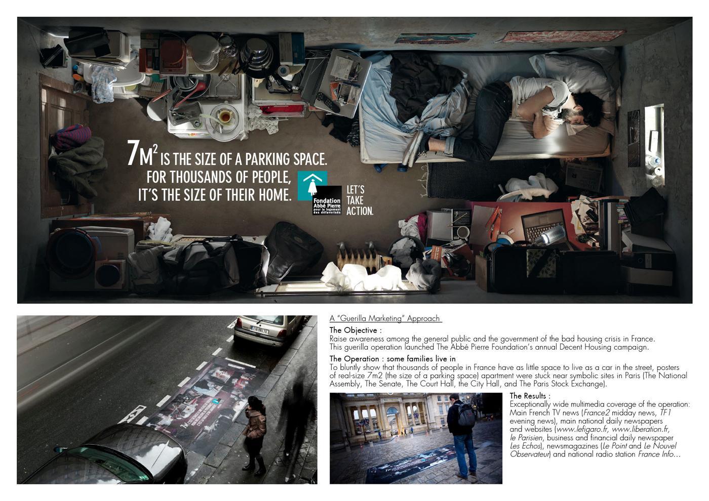 Fondation Abbé Pierre Outdoor Ad -  7