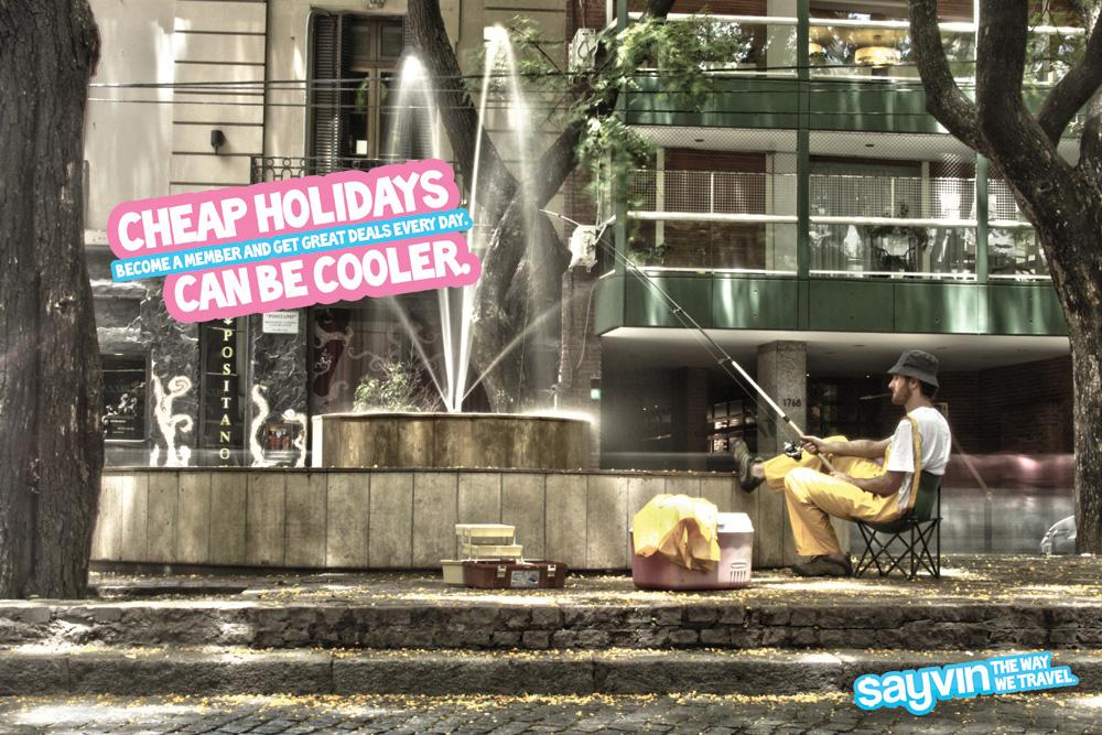 Sayvin Print Ad -  Fountain