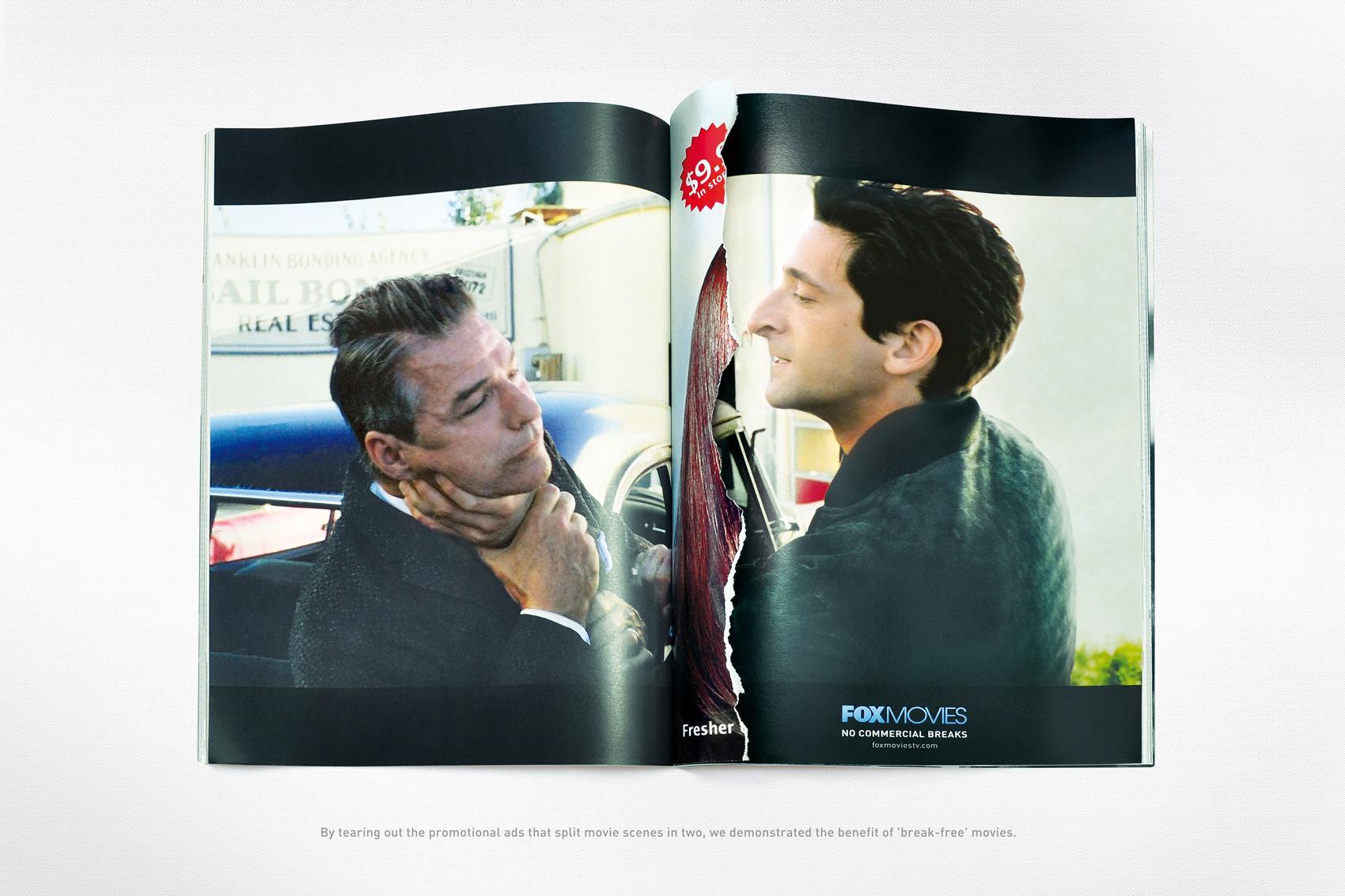 Fox Print Ad -  Hollywoodland