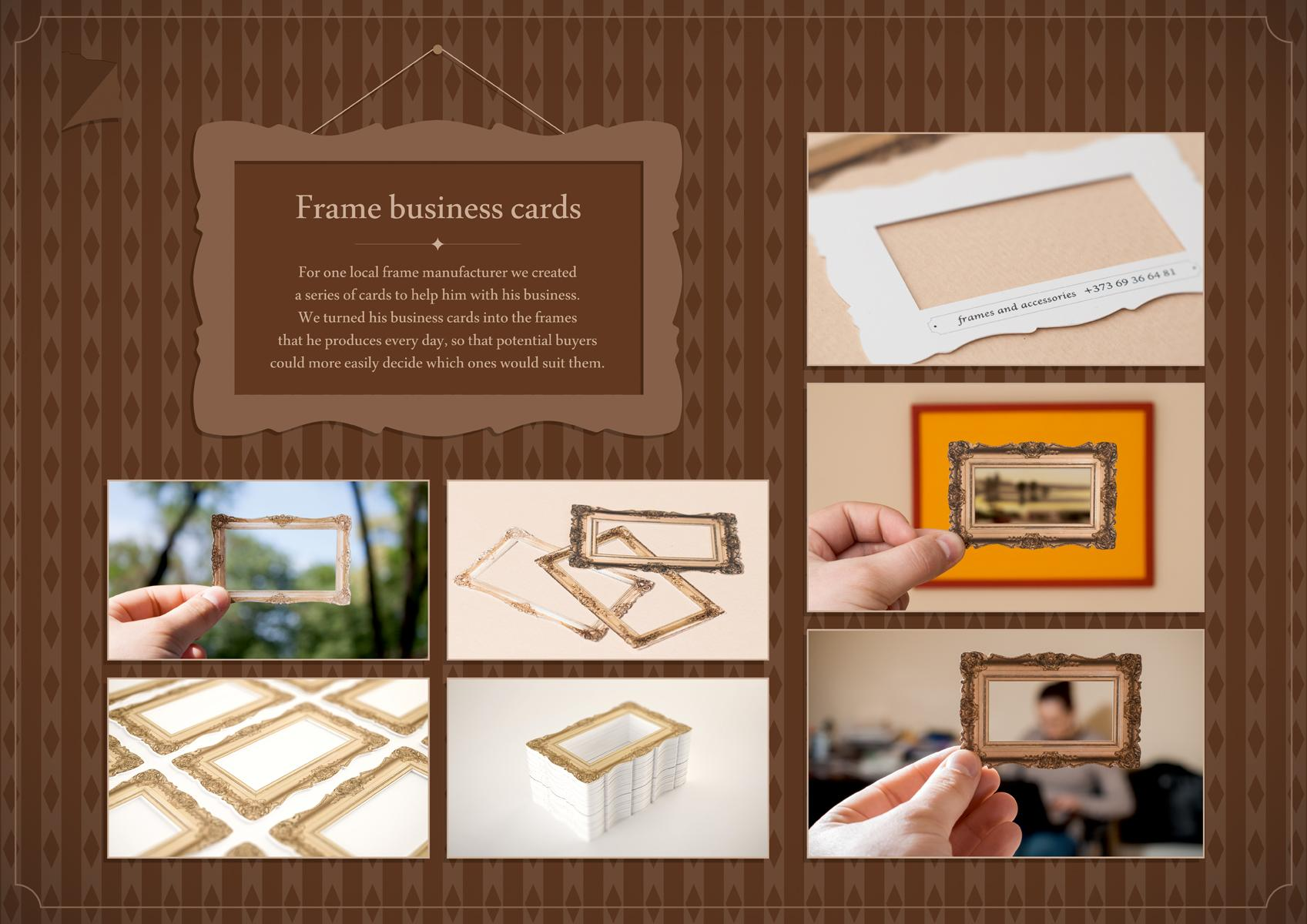 Frame and Accessories Direct Advert By Piko: Business Card | Ads ...