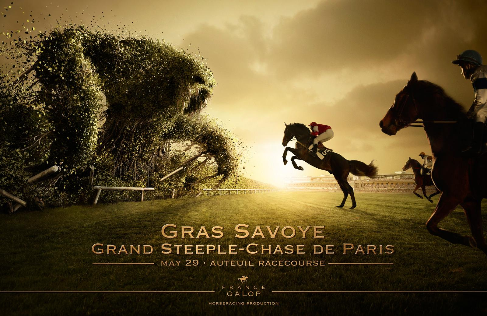 France Galop Print Ad -  Monster