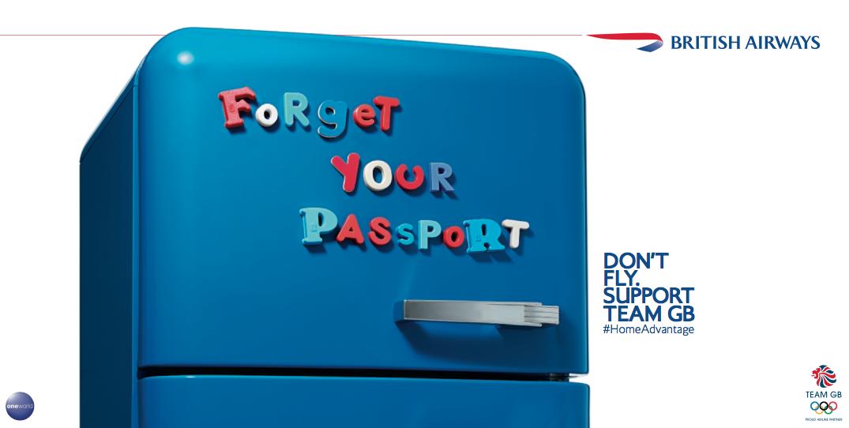 British Airways Print Ad -  Fridge