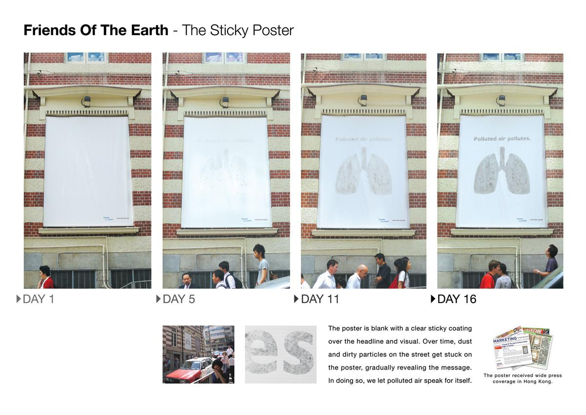 The sticky poster