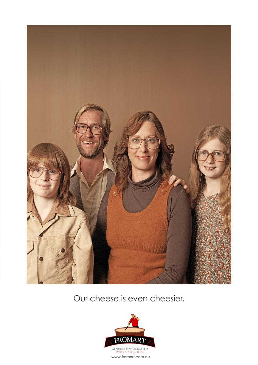 Fromart Print Ad -  Our cheese is even cheesier, 3