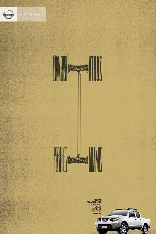 Nissan Print Ad -  Four, 1