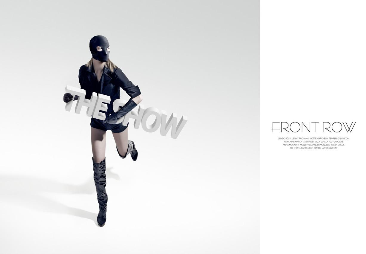 Front Row Print Ad -  Steal the show, 1