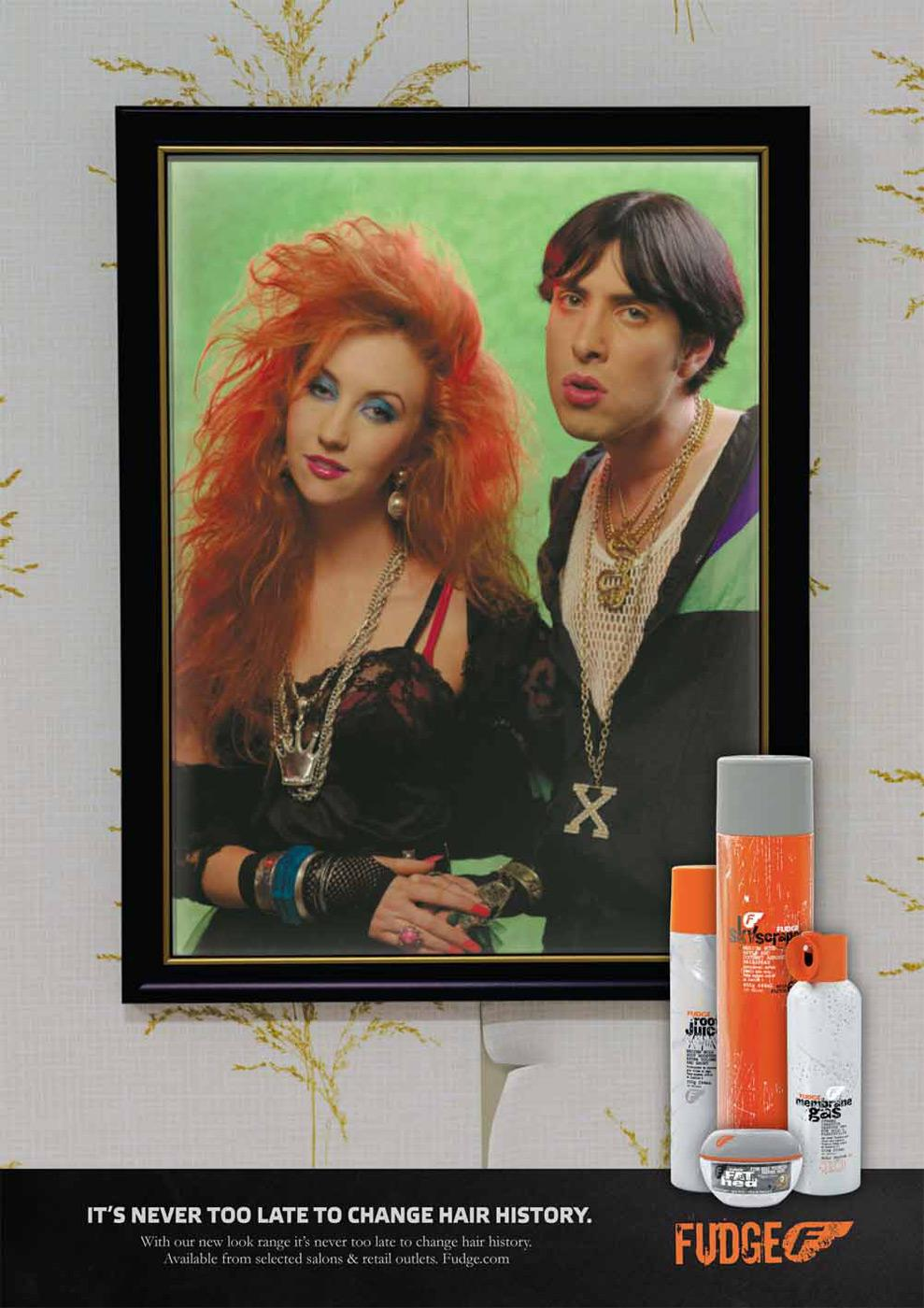 Fudge Print Ad -  Never too late, 2
