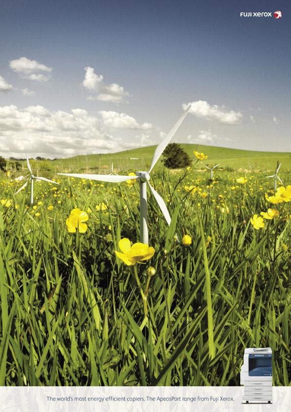 Xerox Print Ad -  Wind generators