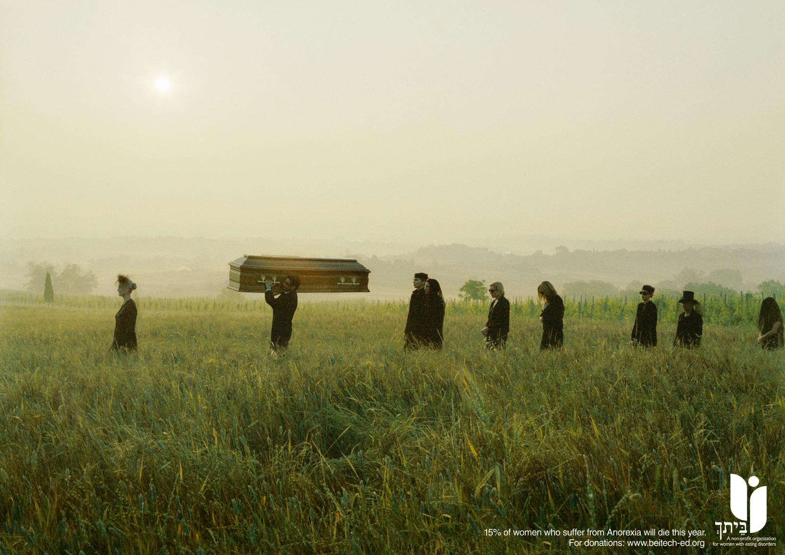 Beitech Print Ad -  Anorexic funeral