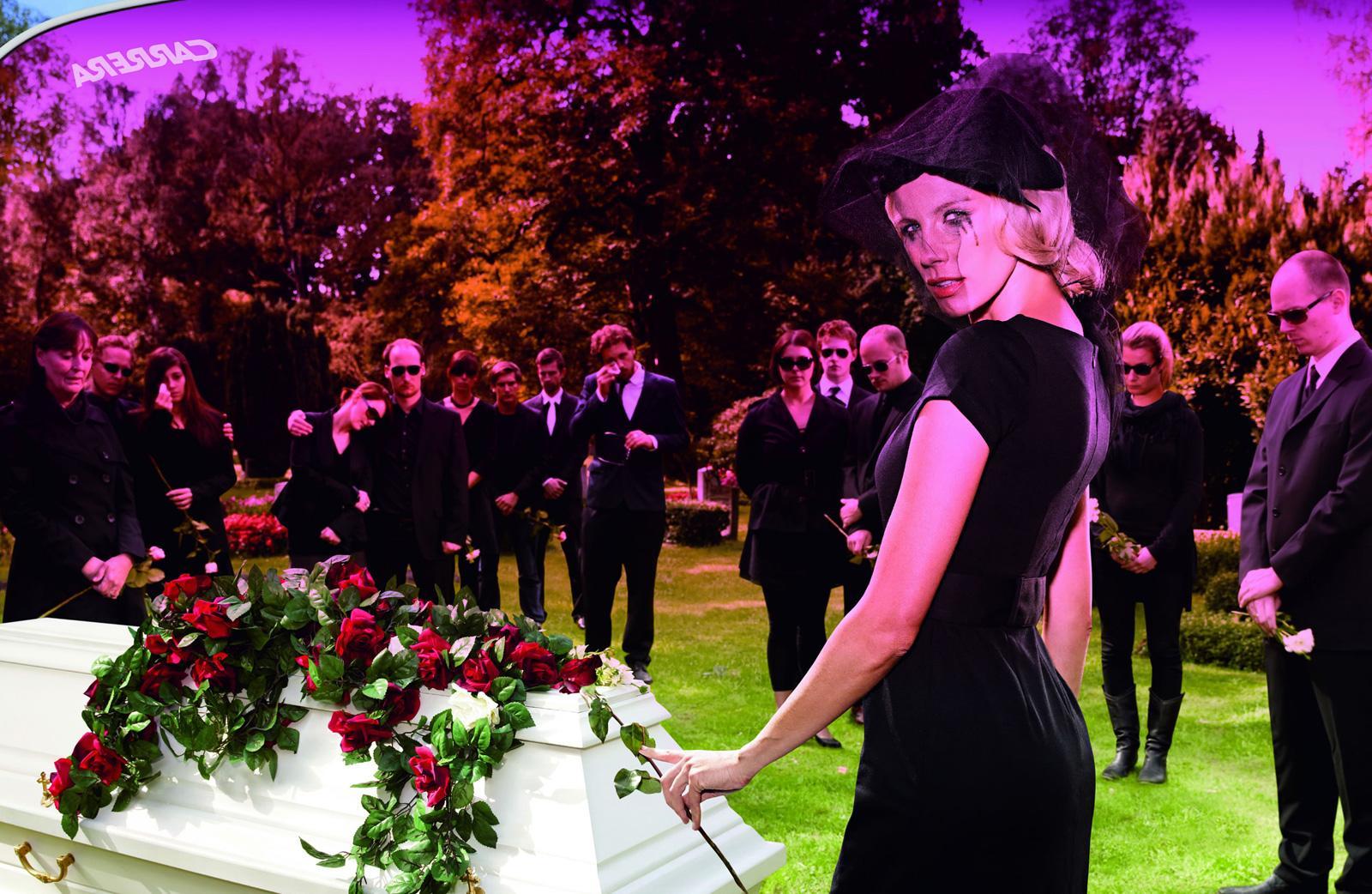 Carrera Print Ad -  Irresistible, Funeral