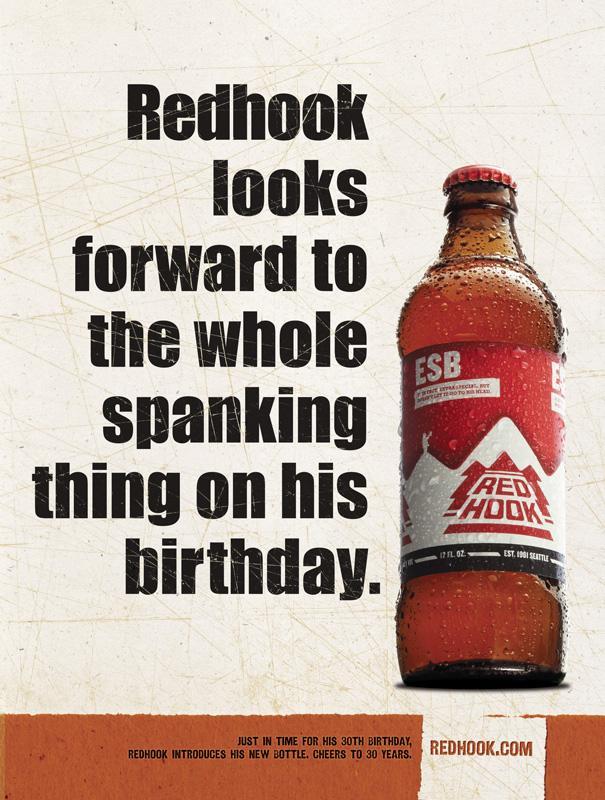 Redhook Print Ad -  Birthday