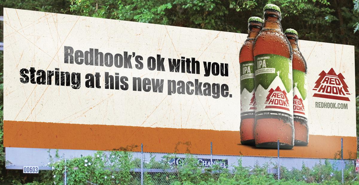 Redhook Outdoor Ad -  Package