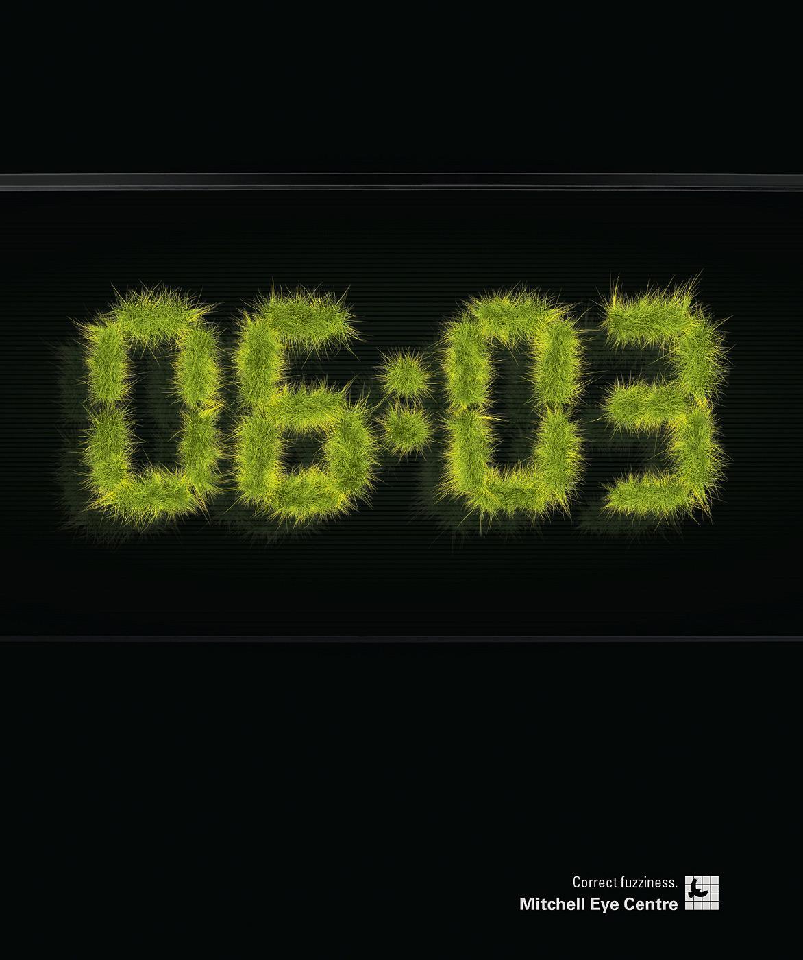 Mitchell Eye Centre Print Ad -  Clock