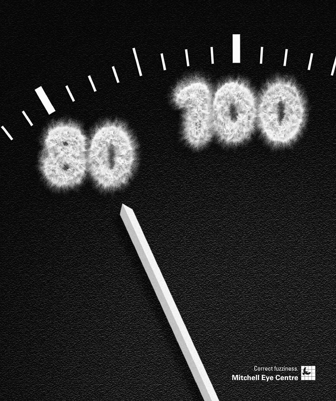 Mitchell Eye Centre Print Ad -  Speedometer