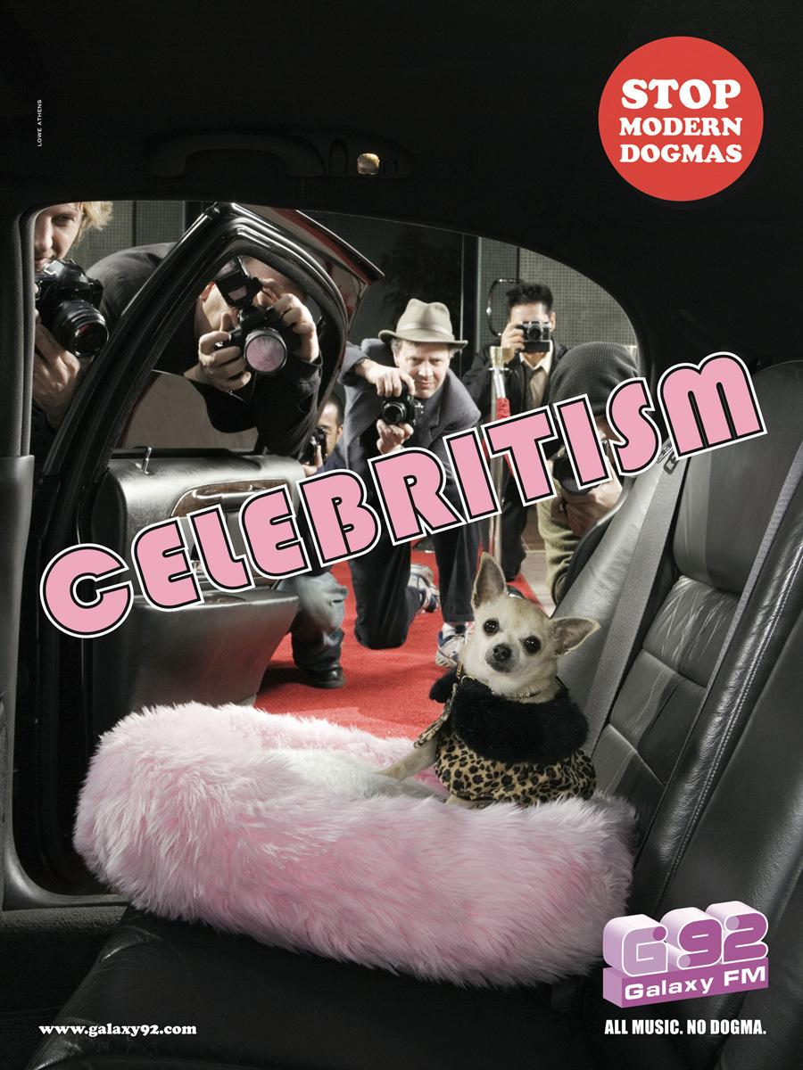 Galaxy Print Ad -  Celebritism