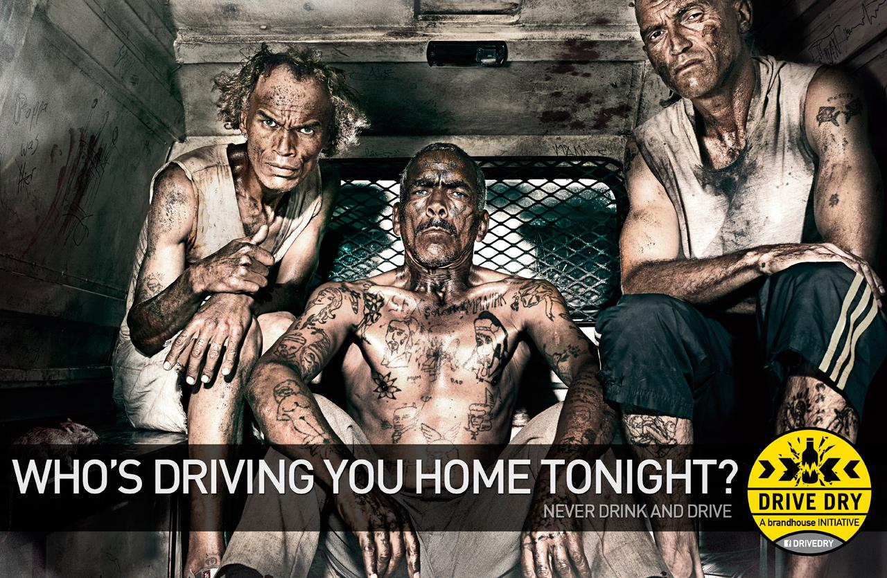 Brandhouse Drive Dry Print Ad -  Gangsters