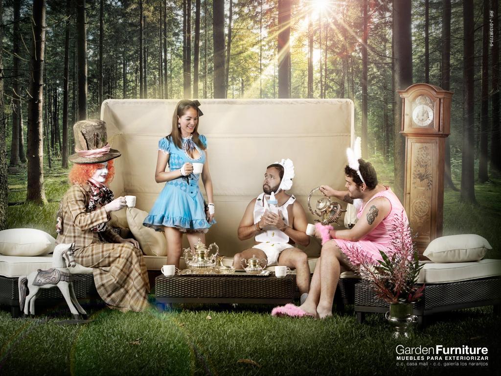 Garden Furniture Print Ad -  Alicia