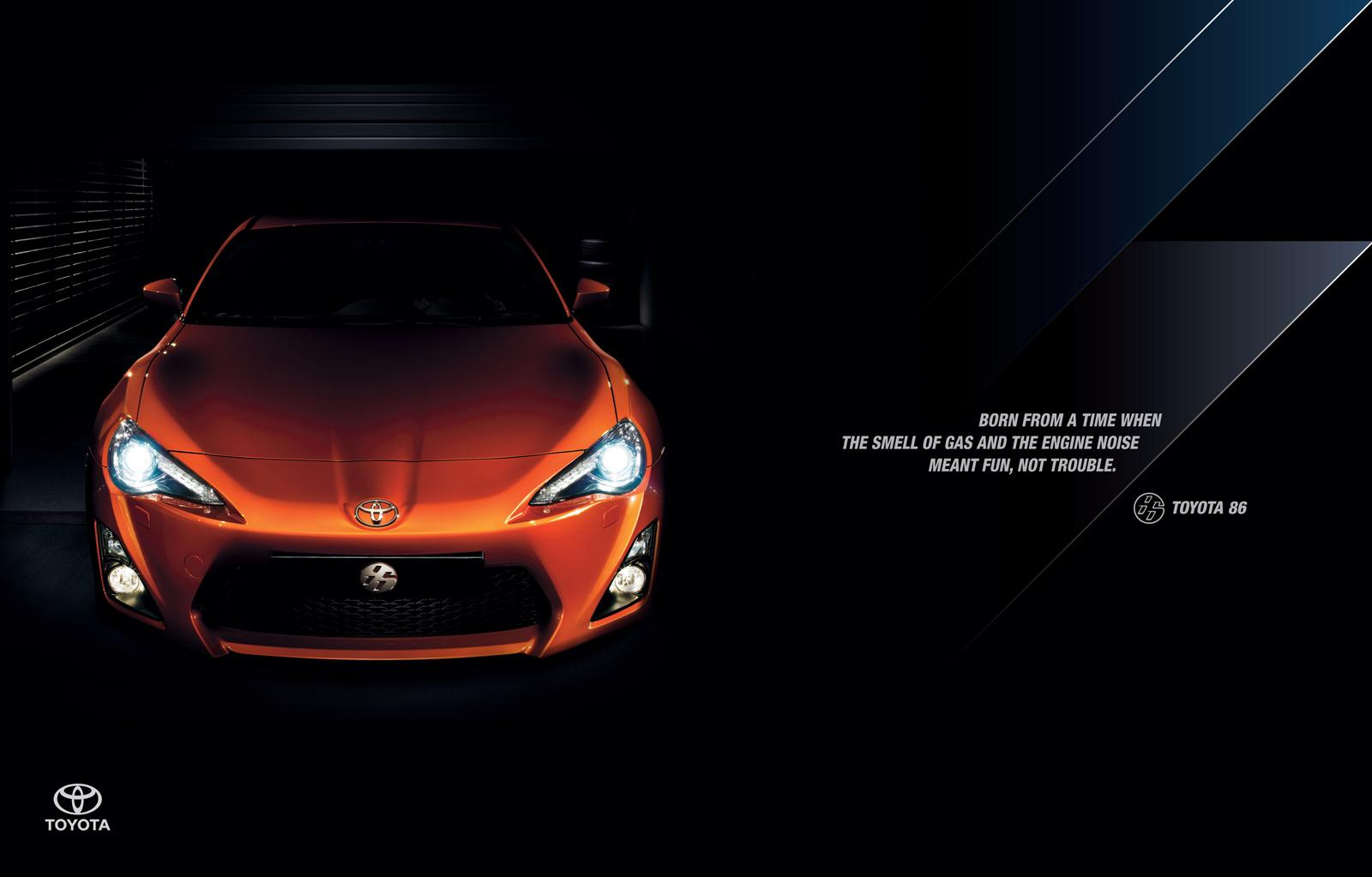 Toyota Print Ad -  Gas