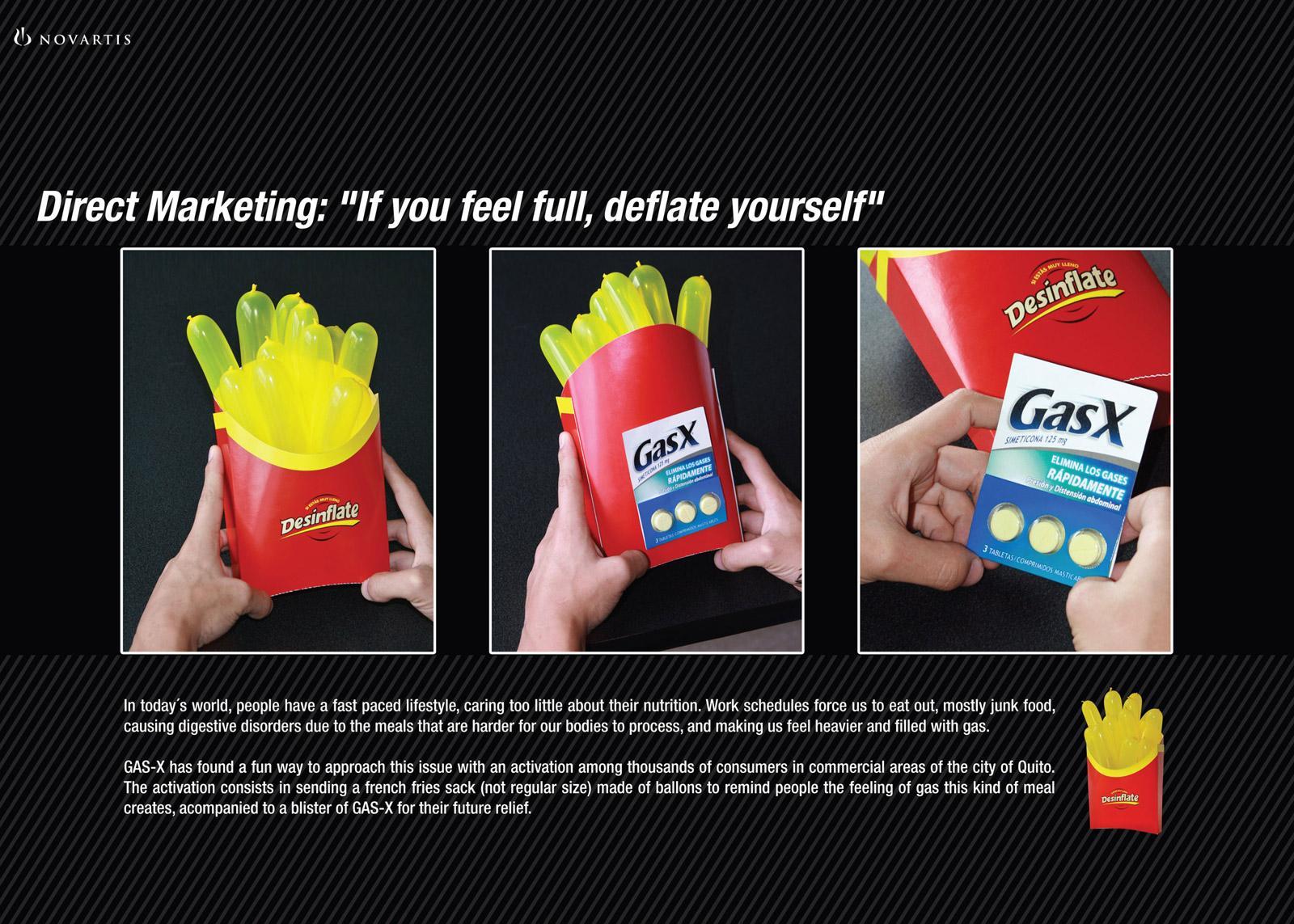 GasX Direct Ad -  Fries